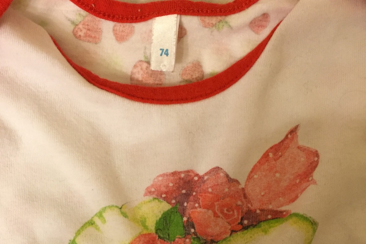 одежда младенца