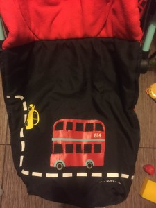Наклейка-автобус на Cosatto Supa